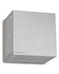 Apliques de Exterior LED 8W Leds C4 POKER Gris