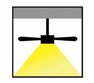 Kit de luz para Ventiladores de techo PHUKET
