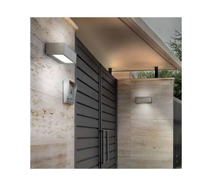 De pared exterior beautiful w led apliques de pared for Apliques exterior modernos