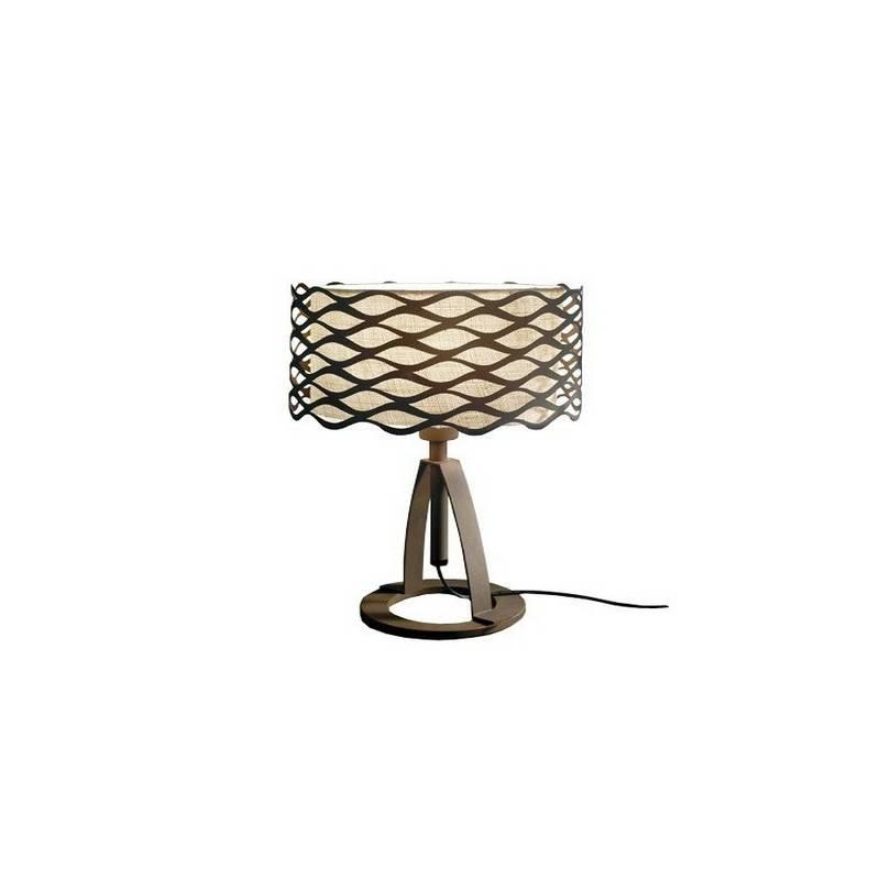 Lámparas de Sobremesa ALSACIA Marrón Óxido