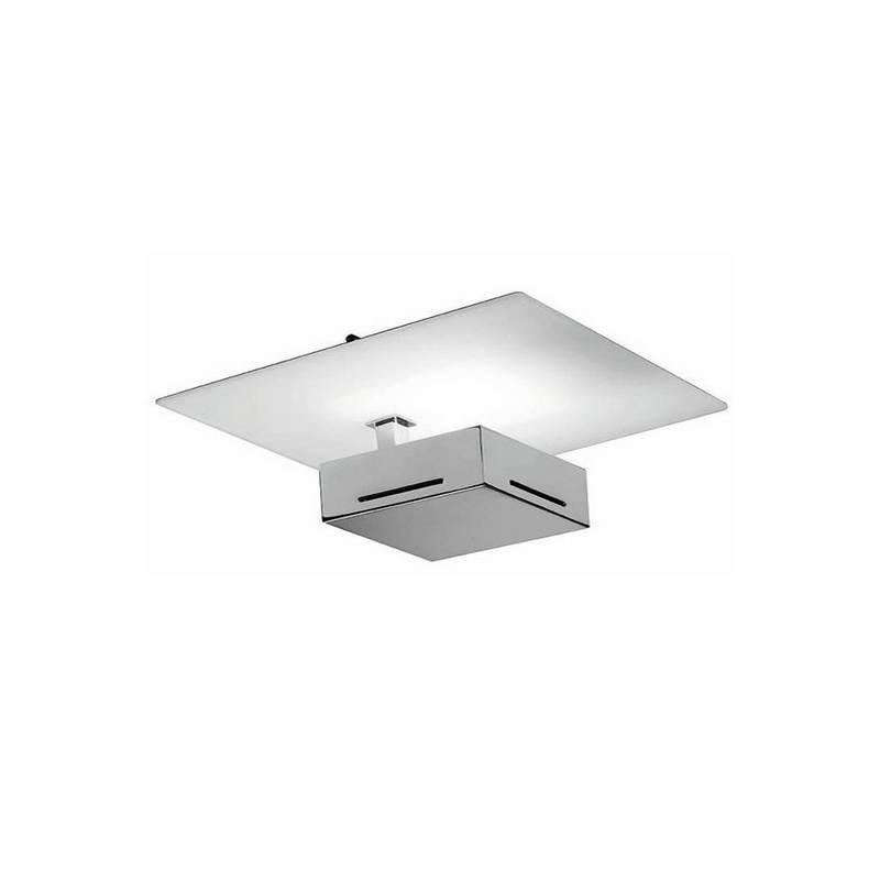 Aplique de aluminio ORIENT Niquel Mate ambiente halógeno de pared