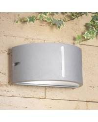 Apliques para Exterior ATENA Aluminio Inyectado Gris