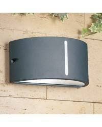 Apliques para Exterior ATENA Aluminio Inyectado Gris Urbano