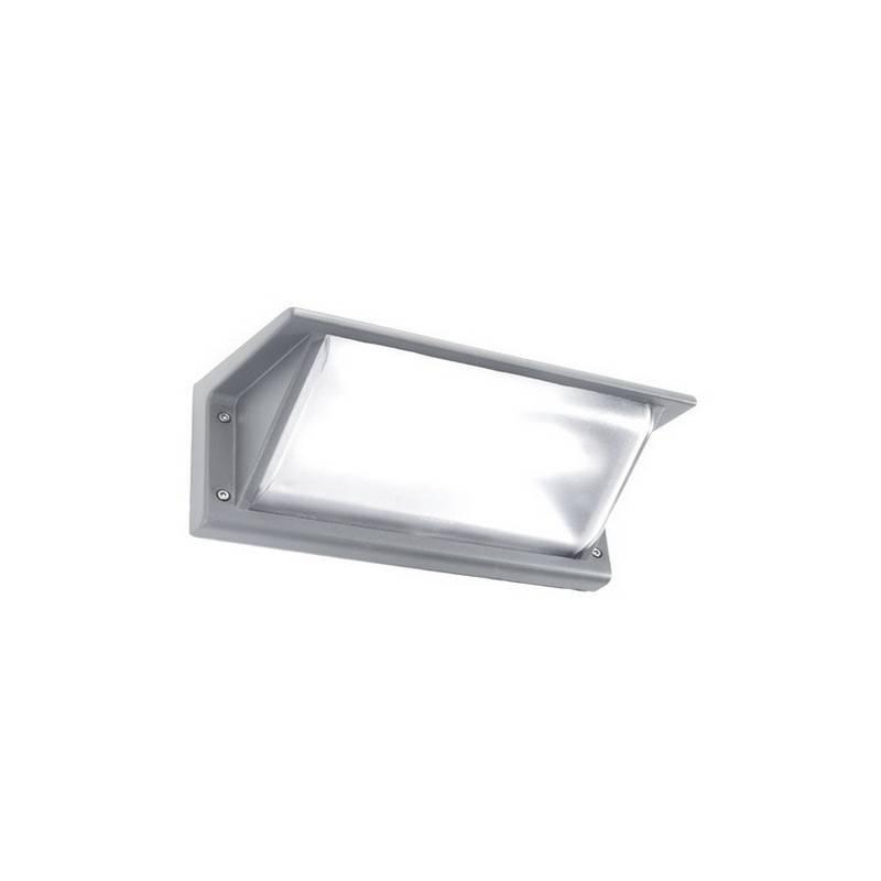 Apliques para Exterior CURIE-2-P Aluminio Gris