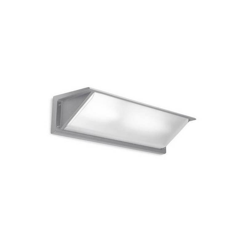Apliques para Exterior CURIE-2-G Aluminio Gris