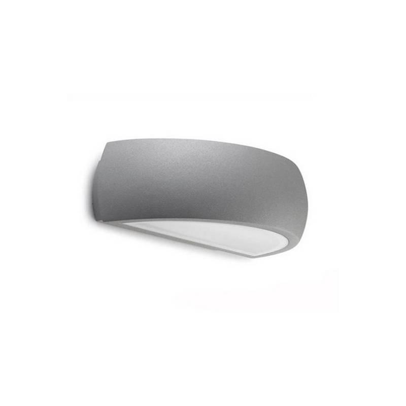Apliques para Exterior DELFOS-G Aluminio Gris G24q-3