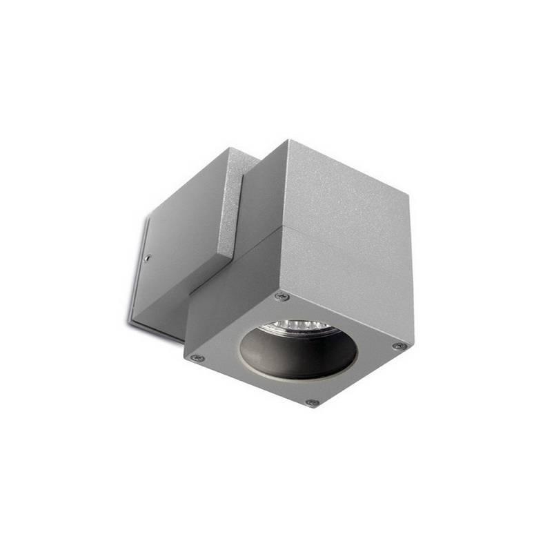 Apliques para Exterior ICARO Aluminio GRIS