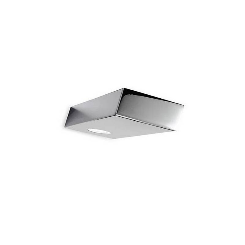 Aplique de aluminio PLA Niquel Mate ambiente LED's de pared