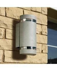 Apliques para Exterior SELENE-2 Aluminio Gris