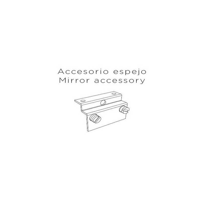 Accesorio espejo para Aplique de aluminio PLA  A-39