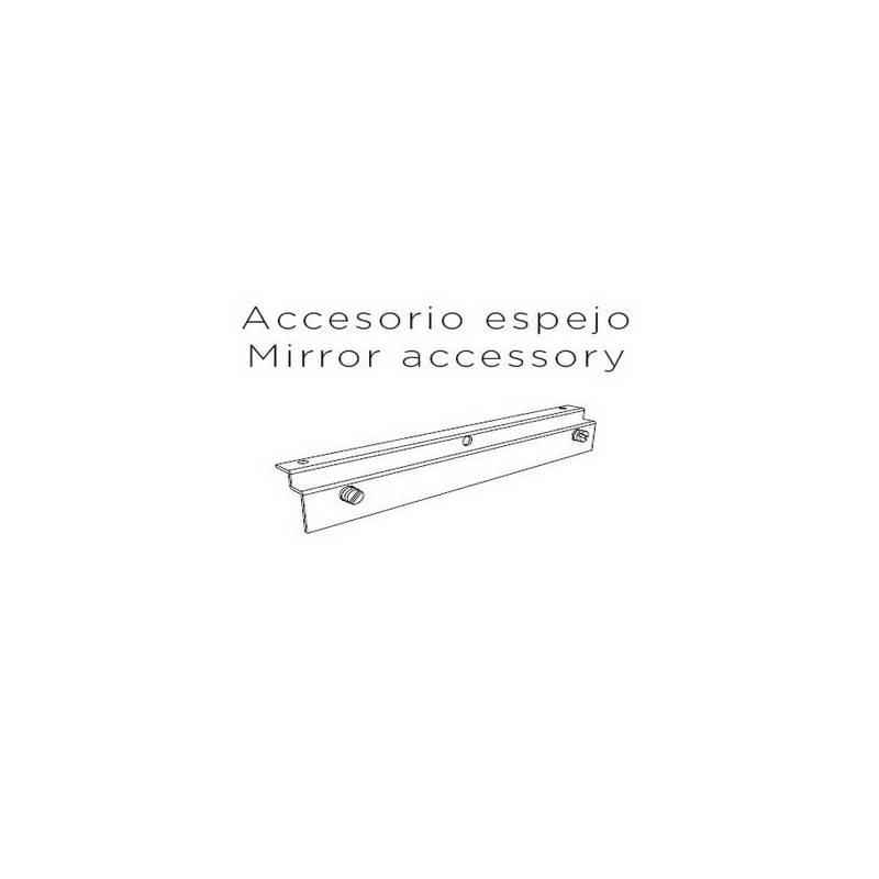 Accesorio espejo para Aplique de aluminio PLA  A-36