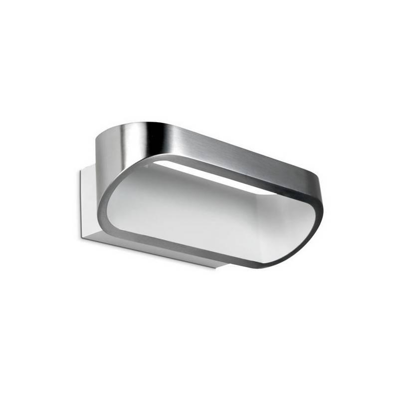 Apliques OVAL-P LED Aluminio Satinado