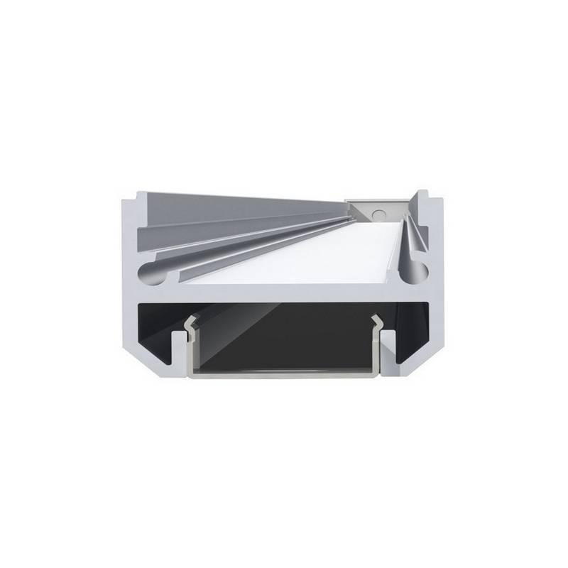 Perfil de 2 Metros + Difusor Transparente LINEAL