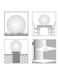 Lámparas Decorativas para Exterior CISNE 400