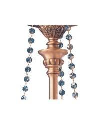 Cadenas de Cristal para Lámpara Colgante TEARS de Alabastro 8 luces