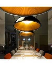 Lámparas Colgantes UMBRELLA 600mm Negro Dorado