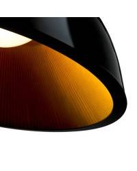 Lámparas Colgantes UMBRELLA 1000mm Negro Dorado