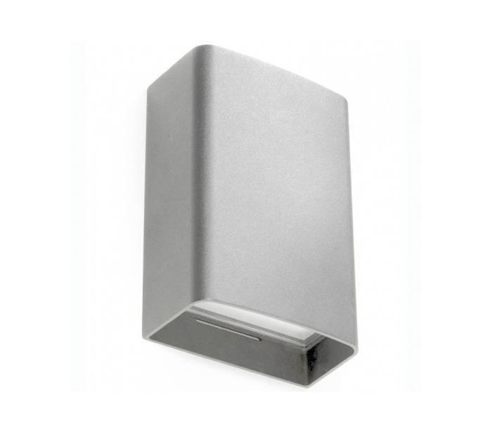 Distribuidores mayoristas de iluminaci n exterior apliques de pared clous led gris - Apliques exterior led ...