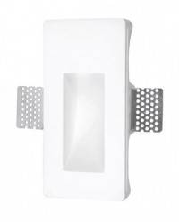 Apliques de Pared SECRET Blanco 165x80mm Blanco