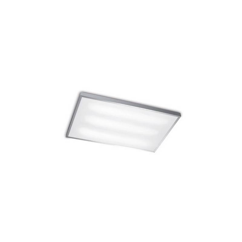Plafón TOLEDO Aluminio 2 luces