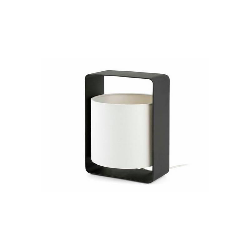 Lámparas de Sobremesa negra + blanca Faro LULA