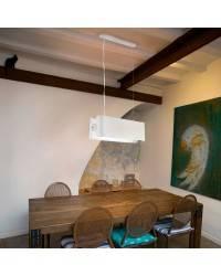 Lámparas Colgantes blancas 480mm Faro PAPILLON