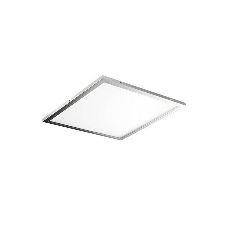 Plafón de aluminio ATENEA LED's color Aluminio de techo