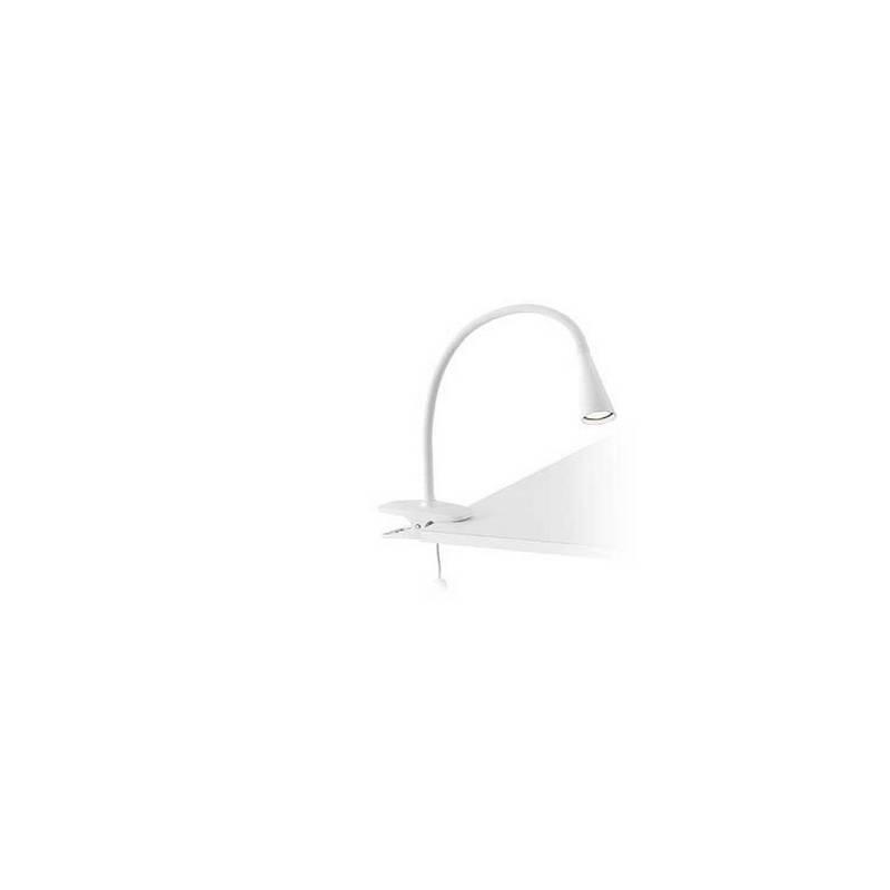 Lámparas Flexos LED blancas Faro LENA