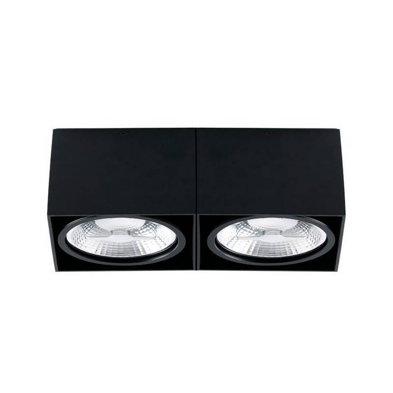 Plafones de techo negros Faro TECTO AR111
