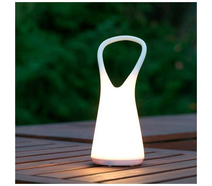 L mparas decorativa led de jard n faro boo for Lamparas led para jardin