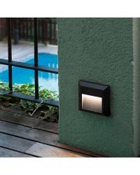 Aplique LED gris oscuro Faro GRANT