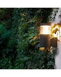Aplique LED gris oscuro Faro GIZA