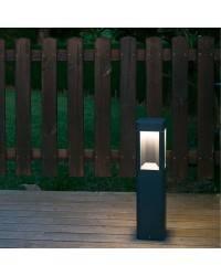 Baliza 500mm LED gris oscuro Faro NAYA