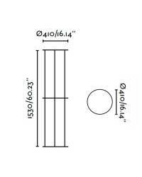 Estructura 1530mm Faro VERSUS