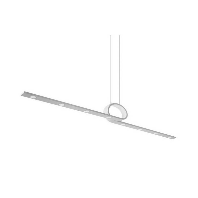 Lámpara Colgante LED gris Leds-C4 CURL