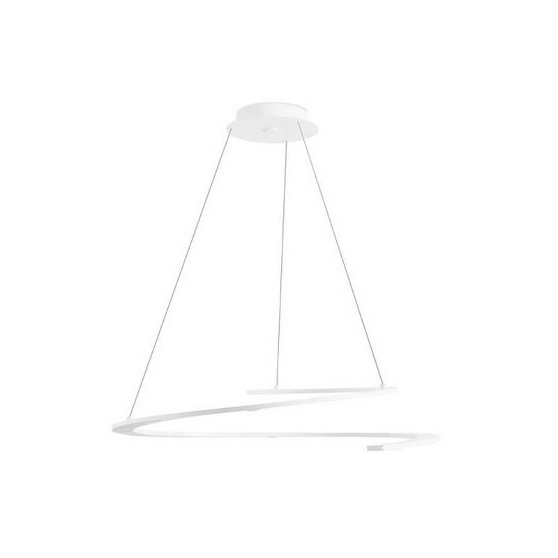Lámpara Colgante LED blanca Leds-C4 CURL