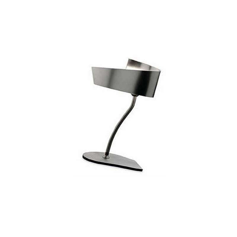 Lámpara de Sobremesa Aluminio  Cromo  1 X E-14 PL 11w 220V