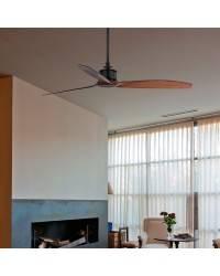 Ventiladores de techo Faro JUST FAN con palas de madera