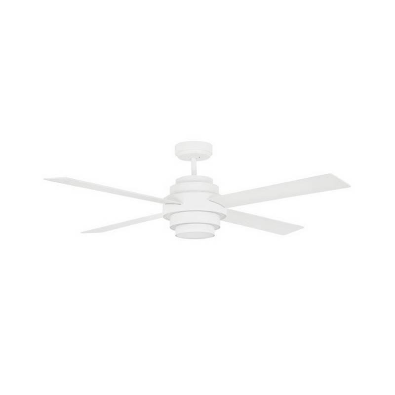 Ventiladores de techo con luz LED Faro DISC blanco
