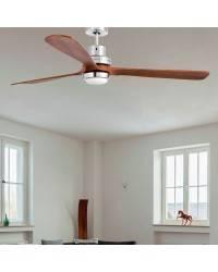 Ventiladores de techo con luz LED Faro LANTAU-G de madera