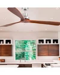 Ventiladores de techo Faro LANTAU-G de madera natural