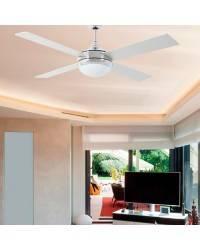 Ventiladores de techo con luz Faro ICARIA aluminio