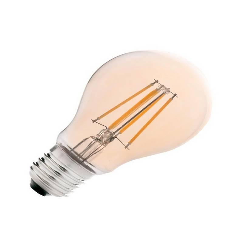 Bombilla LED Regulable E27 Standard A55 5W 400Lm Ambar Filamento