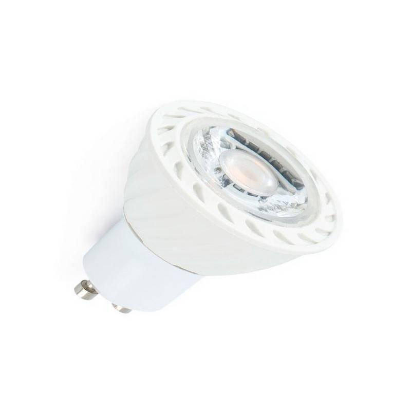 Bombilla LED GU10 8W 500Lm 2700K Blanca de 60º de apertura
