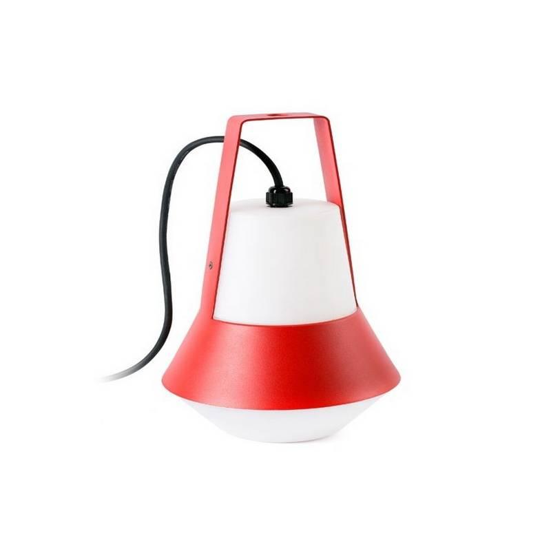 Lámpara portátil Faro CAT roja