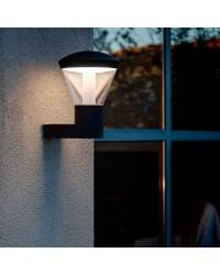 Aplique de Exterior LED Faro Shelby Gris Oscuro