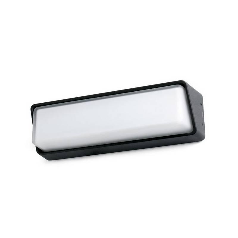 Aplique de Exterior LED Faro HALF negro