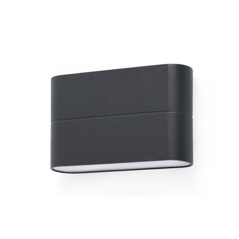 Aplique de Exterior LED Faro ADAY-1 gris oscuro