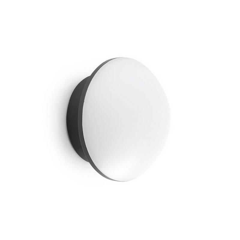 Aplique Plafón de Exterior LED Faro SUN gris oscuro