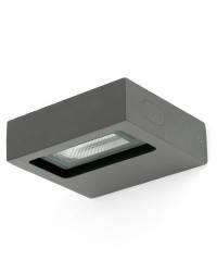 Aplique de Exterior LED Faro TAIMA gris oscuro direccionable